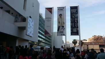 there was not a slightest chance to enter the MACBA Museu d'Art Contemporani de Barcelona