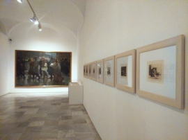 "permanent collection with Goya's ""The Disasters of War""series"
