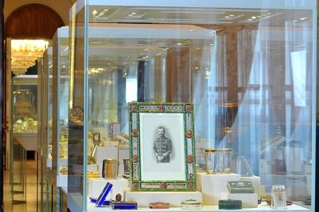 Fabergé Museum, St. Petersburg, Russia; Foto via http://saint-petersburg.com