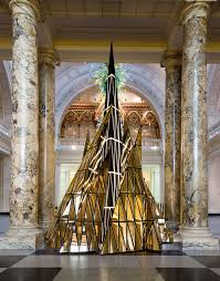 the 2014 Christmas Tree installation by Gareth Pugh, Victoria & Albert Museum | photo via vam.co.uk