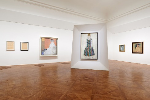 The Women of Klimt, Schiele and Kokoschka, 2015-2016, Belvedere Museum Vienna; foto © Belvedere Museum Vienna via http://belvedere.at/
