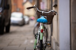 Bicycle is a must in Oxford! fot. Kinga Lubowiecka